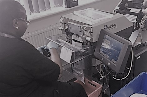 In house automated bagging service