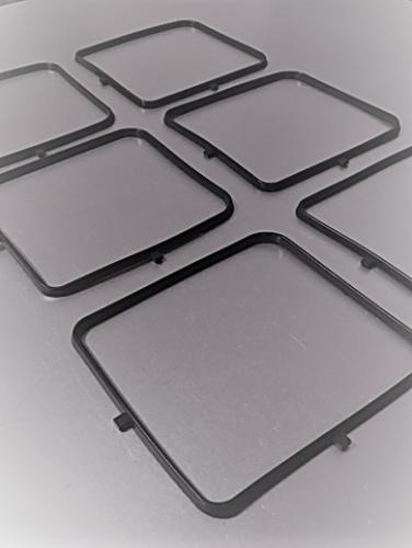 Customised rectangular door seal