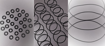 Black Viton O-rings